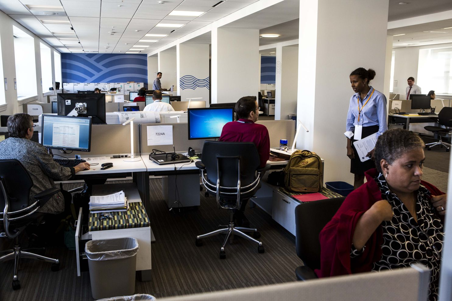 Desk Ideas Office Cubicle