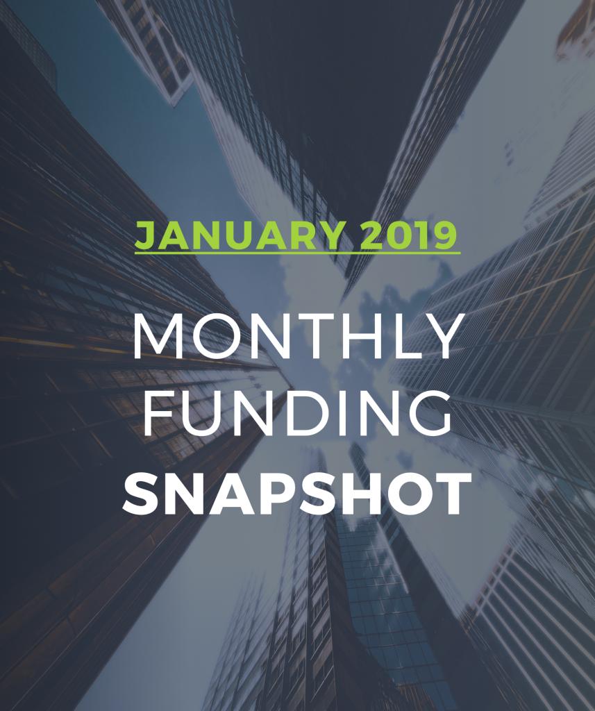 January Apartment Jobs Snapshot: CREtech Monthly Funding Snapshot: January 2019